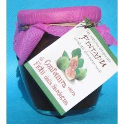 Confettura Extra di Fichi di Sardegna 220 gr. con variante al mirto selvatico di Sardegna